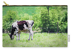 Cow Grazing Carry-all Pouch