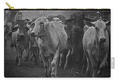Cow On The Way Carry-all Pouch