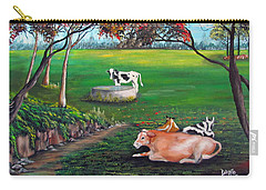 Cow Tales Carry-all Pouch