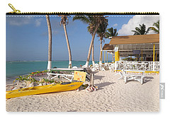 Carry-all Pouch featuring the photograph Cow Wreck Bay Beach Bar 2 by Eric Glaser