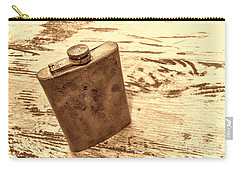 Cowboy Energy Drink Carry-all Pouch by American West Legend By Olivier Le Queinec
