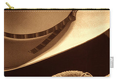 Cowboy Hat And Lasso Carry-all Pouch
