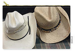 Cowboy Hats Carry-all Pouch by Renie Rutten