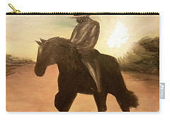 Cowboy On The Range Carry-all Pouch