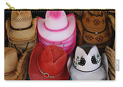 Cowgirl Hats Carry-all Pouch