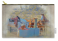 Cowgirl Spa 5p Of 6 Carry-all Pouch