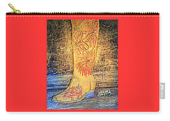Cowgirl Western Boot Carry-all Pouch