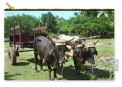 Cows And Cart Carry-all Pouch