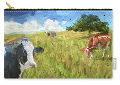 Cows In Field, Ver 2 Carry-all Pouch
