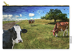 Cows In Field, Ver 3 Carry-all Pouch