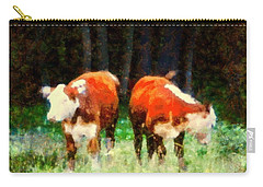 Cows In The Meadow - Swish Swish Carry-all Pouch