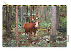 Cows In The Woods Carry-all Pouch