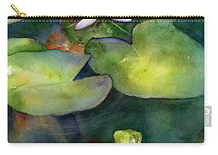 Coy Koi Carry-all Pouch by Amy Kirkpatrick