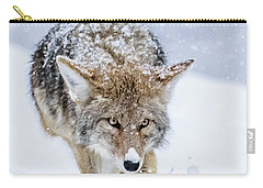 Coyote Coming Through Carry-all Pouch