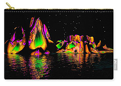 Coyote Moon Carry-all Pouch by Robert Orinski