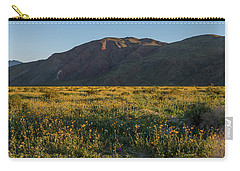 Coyote Mountain And Henderson Canyon Road Carry-all Pouch