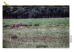 Coyote On The Prowl Carry-all Pouch by Bruce Patrick Smith