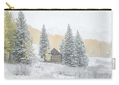 Cozy Cabin Carry-all Pouch by Kristal Kraft
