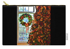 Carry-all Pouch featuring the photograph Cozy Christmas by Diane Alexander