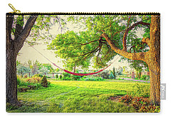 Carry-all Pouch featuring the photograph Cozy Lazy Afternoon by James BO Insogna