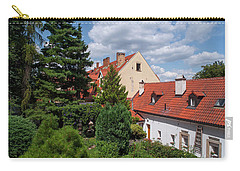 Carry-all Pouch featuring the photograph Cozy Prague by Jenny Rainbow