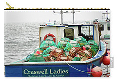 Crab Boat Carry-all Pouch