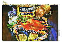 Crab Fixin's Carry-all Pouch