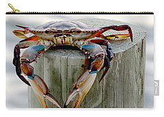 Crab Hanging Out Carry-all Pouch