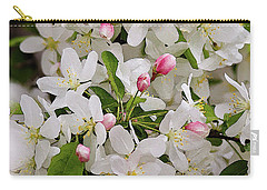 Crabapple Blossoms 5 Carry-all Pouch