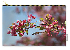 Crabapple In Spring Section 1 Of 4 Carry-all Pouch