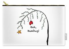 Crabby Bah Humbug Christmas Tree - Bah Humbug Carry-all Pouch
