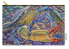 Crabby Carry-all Pouch by David Joyner