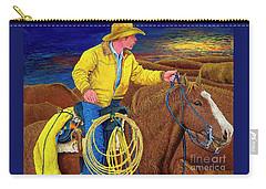 Cracker Cowboy Sunrise Carry-all Pouch