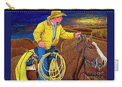 Cracker Cowboy Sunrise Carry-all Pouch
