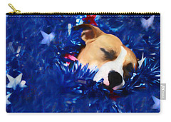 Carry-all Pouch featuring the photograph Cradled By A Blanket Of Stars And Stripes by Shelley Neff