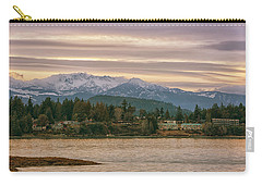 Carry-all Pouch featuring the photograph Craig Bay by Randy Hall