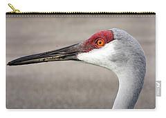 Crane Closeup Carry-all Pouch