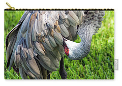 Crane Down Under Carry-all Pouch