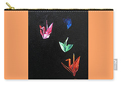 Crane Flight Carry-all Pouch by LaVonne Hand