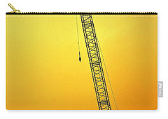 Crane With Towers Carry-all Pouch by Michelle Calkins