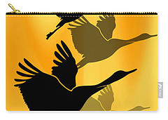 Cranes In Flight Carry-all Pouch