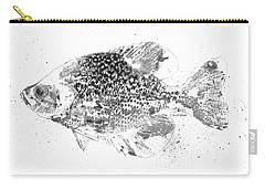 Crappie Abstract Carry-all Pouch