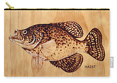 Crappie Carry-all Pouch by Ron Haist