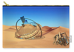 Crash Space Craft In The Desert Carry-all Pouch