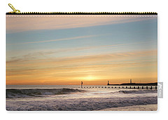 Crashing Waves At Aberdeen Beach Carry-all Pouch