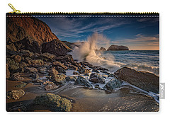 Crashing Waves On Rodeo Beach Carry-all Pouch
