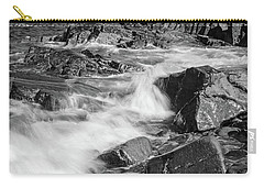 Carry-all Pouch featuring the photograph Crashing Waves, Portland Head Light, Cape Elizabeth, Maine  -5605 by John Bald