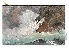 Crashing Waves Seascape Art Carry-all Pouch