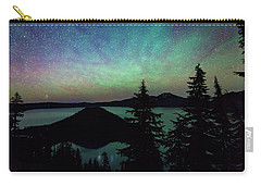 Carry-all Pouch featuring the photograph Crater Lake Airglow by Cat Connor