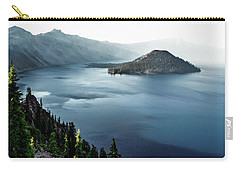Crater Lake Under A Siege Carry-all Pouch